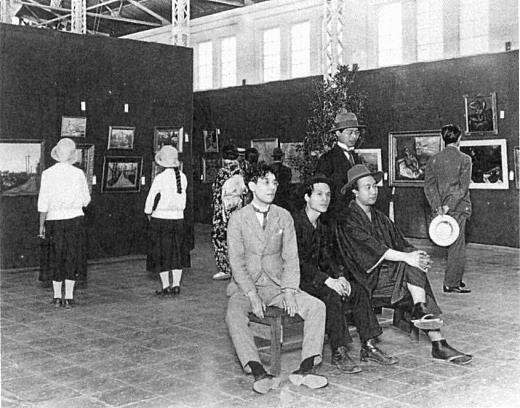 1930年協会第2回展192706.jpg