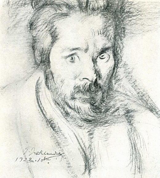デッサン「自画像」1922.jpg