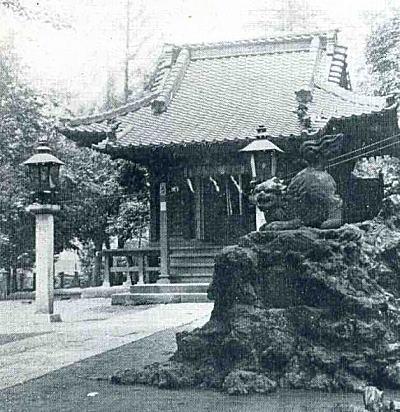 下落合氷川明神社1932.jpg