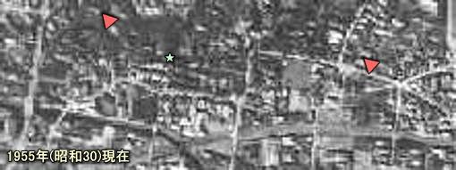 下落合空中1955.JPG