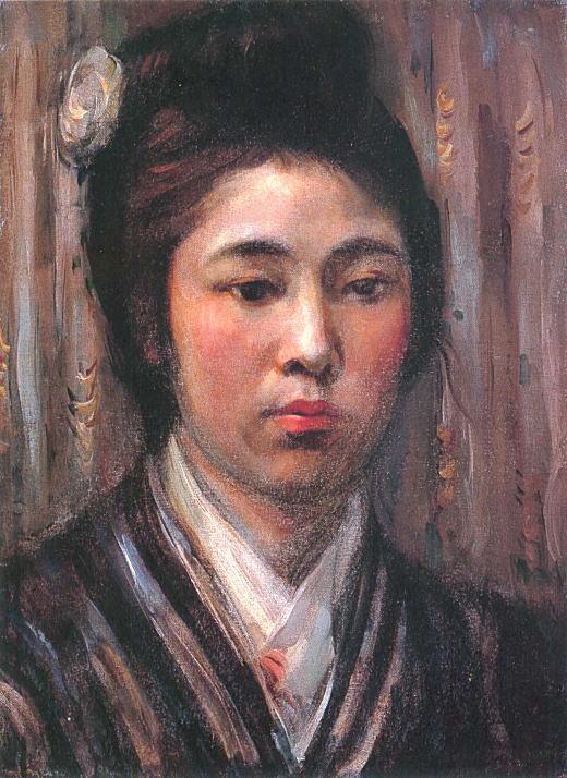中村彝「婦人像」1922.jpg