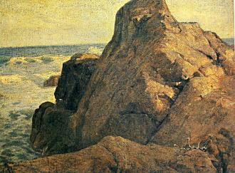 中村彝「巌」1909.jpg