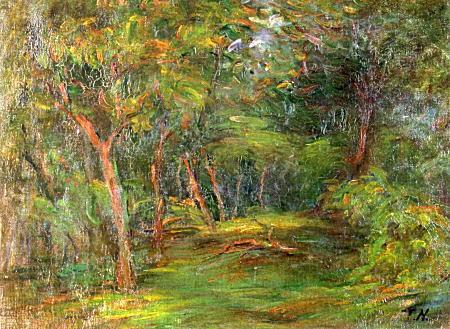 中村彝「木立風景」1909.jpg