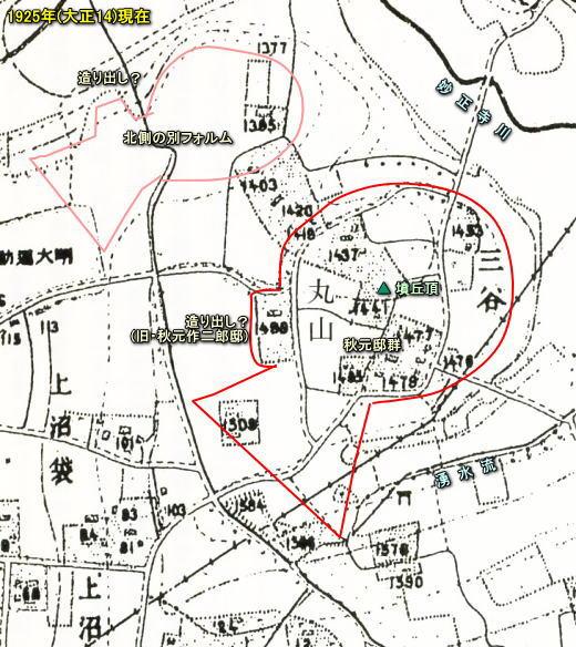 丸山三谷古墳1925.jpg