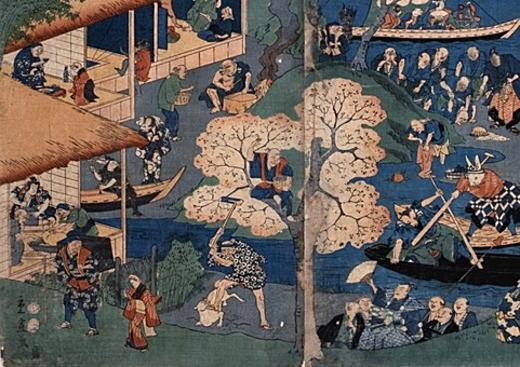 二代広重「昔ばなし一覧図絵」1857.jpg