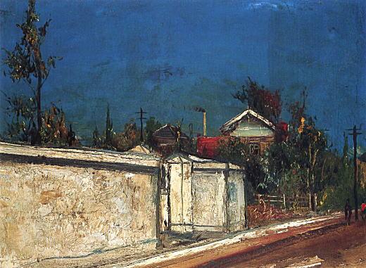 佐伯祐三「白い壁の家」1926頃.jpg