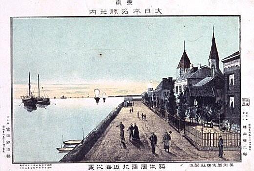 勝山英三郎「築地居留地近海之景」1891.jpg