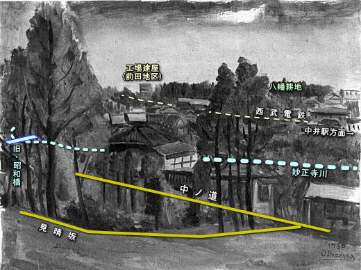 南風原朝光「風景」1930モノクロ.jpg
