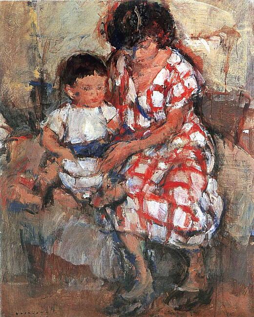 吉岡憲「母子」1953.jpg
