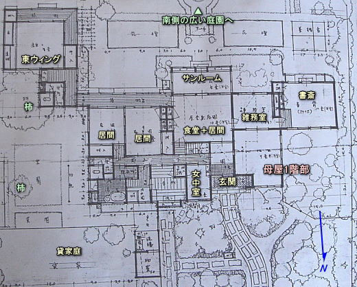 吉武東里邸設計平面図2.JPG