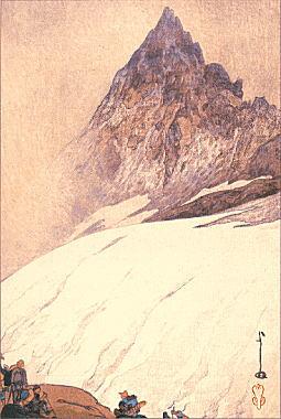 吉田博「鎗ヶ岳」1926.jpg