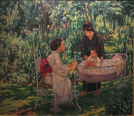 大久保作次郎「揺籃」1921.jpg