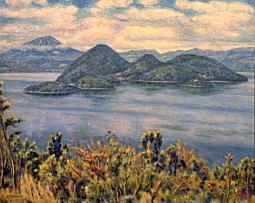 大久保作次郎「洞爺湖」1953.jpg