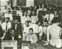 太平洋画会講習会風景1928.jpg