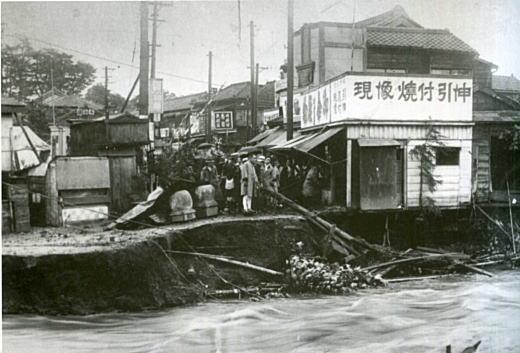 妙正寺川洪水1938.jpg