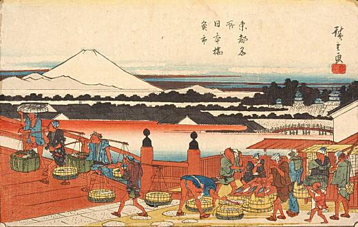 安藤広重「東都名所日本橋魚市」.jpg