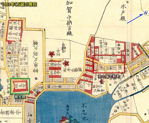小石川谷中本郷絵図1861(万延2).jpg