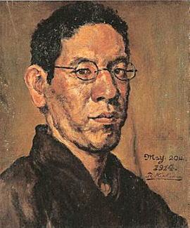 岸田劉生「自画像」1914.jpg
