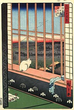 広重「浅草田圃酉の町詣」1857.jpg
