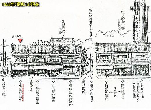 早稲田通り1938(濱田煕).jpg