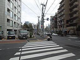 早稲田通り下り坂.JPG