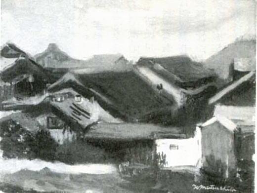 松下春雄「下落合風景」1929-30.jpg