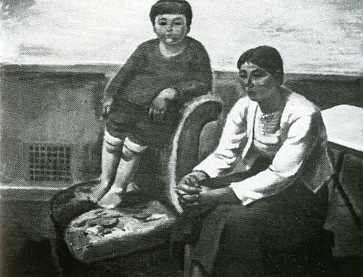 松下春雄「母子」1933.jpg