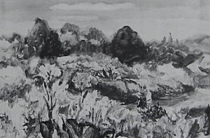 松下春雄「豊島園」1927.JPG