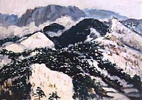 林重義「雪山」1938.jpg