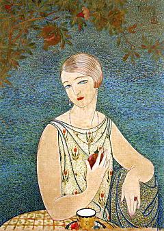 柘榴を持つ女1927.jpg