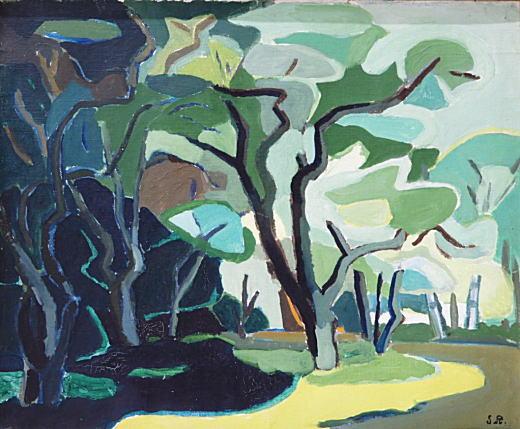 海洲正太郎「新緑上高地」1952.jpg