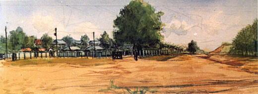 濱田煕「戸塚三丁目の家並み」1937.jpg