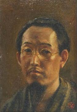片多徳郎「自画像」1926.jpg