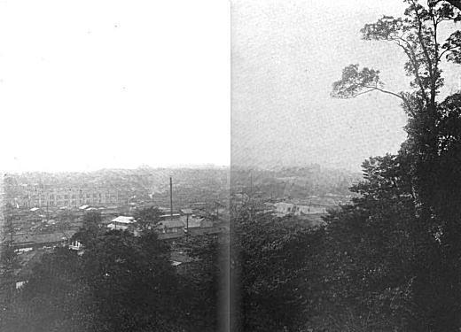 牛込区史「江戸川公園より早稲田方面」1930.jpg