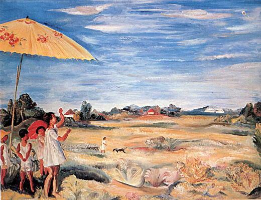 牧野虎雄「凧揚げ」1924.jpg