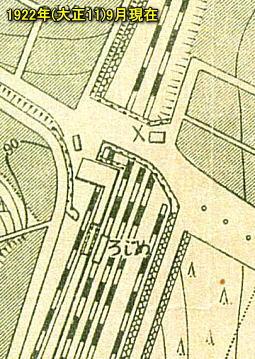 目白駅3千分の1地形図192209.jpg