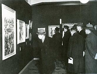 第34回団栗洋画展覧会1943.jpg