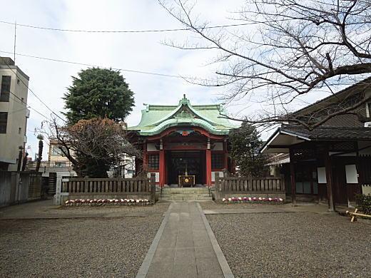 筑土八幡社拝殿.JPG