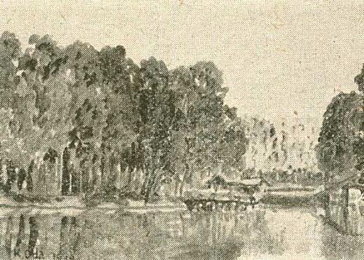 織田一磨「井ノ頭の池」1938.jpg