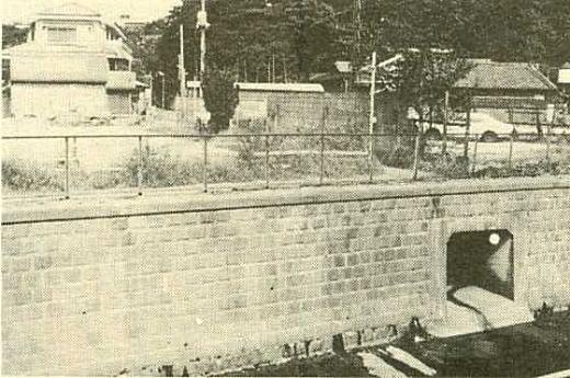落合分水妙正寺川合流1950.jpg