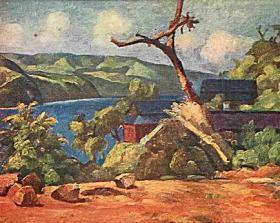 虫明柏太「風景」1919.jpg