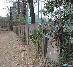 防疫研究室セメント塀.JPG