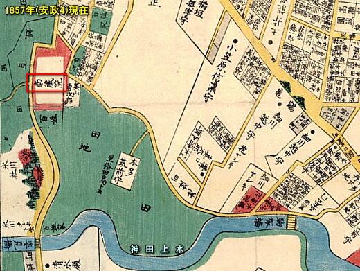 雑司ヶ谷音羽絵図1857.jpg
