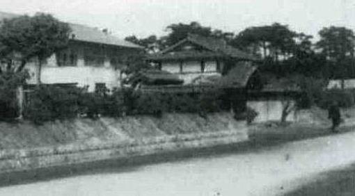 香椎黒門1947ごろ部分.jpg