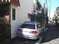 鶴田吾郎アトリエ跡付近.JPG