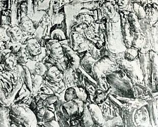 黒澤明「建築場における集会」1929.jpg